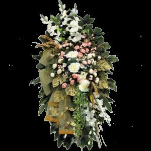 ВЕНОК из искусственных цветов – 70×110 см