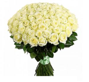 Траурные букеты из живых цветов №12