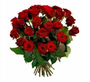 Траурные букеты из живых цветов №7