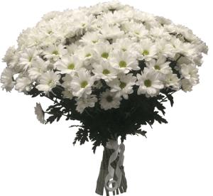Траурные букеты из живых цветов №8