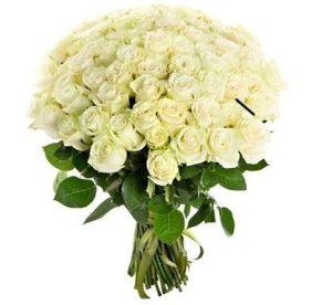 Траурные букеты из живых цветов №10