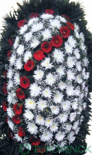 Венок из живых цветов №06-100 см.