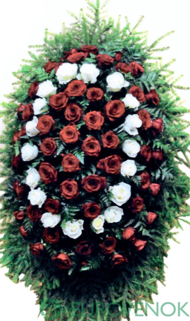 Венок из цветов №22