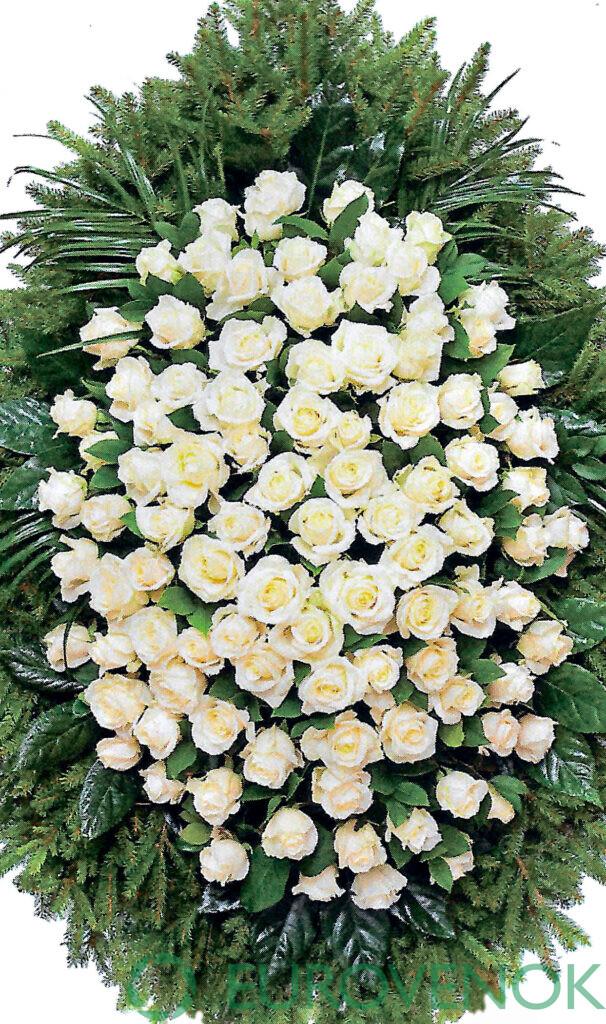 Венок из цветов №26