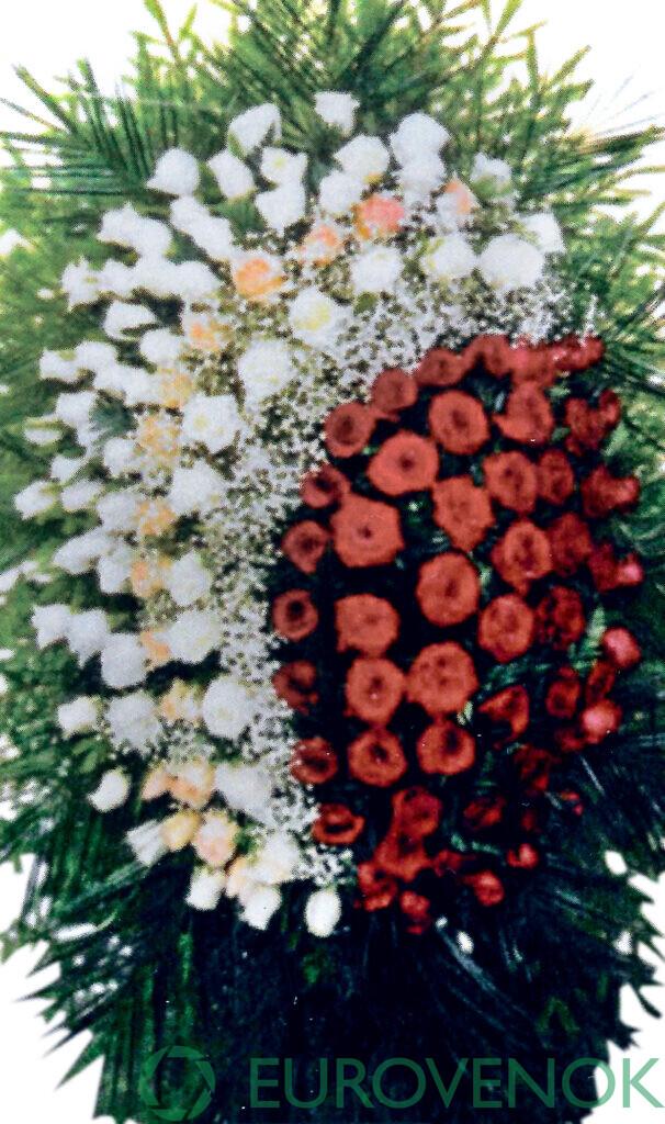Венок из цветов №28