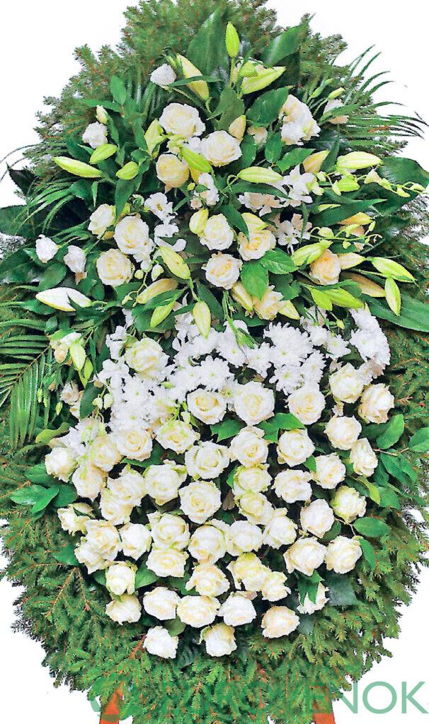 Венок из цветов №32