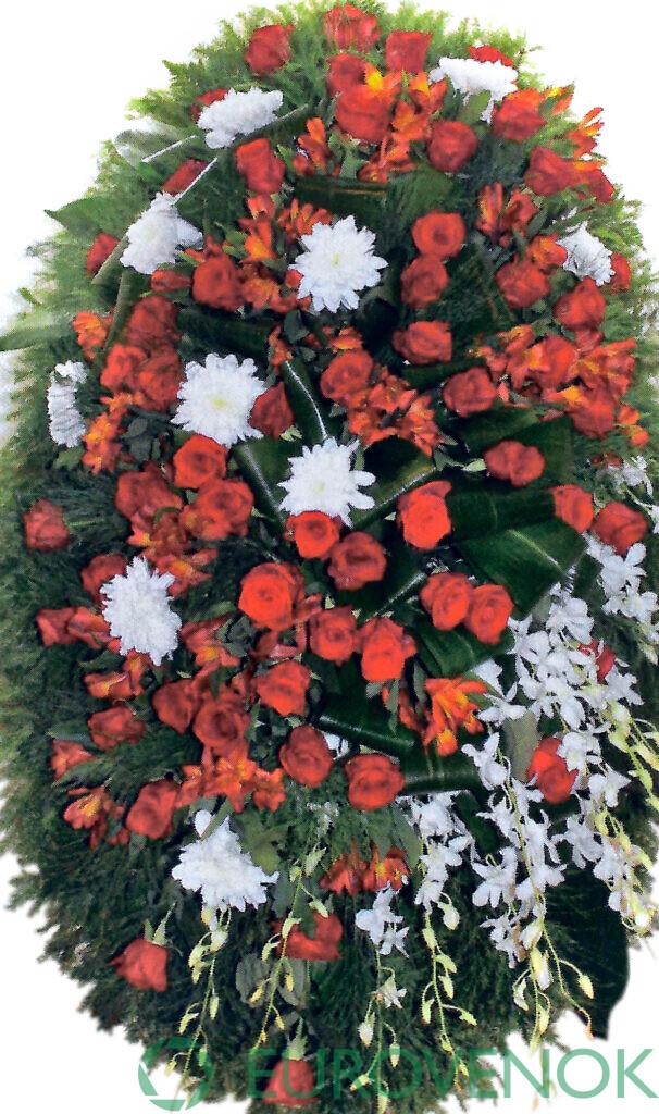 Венок из цветов №40
