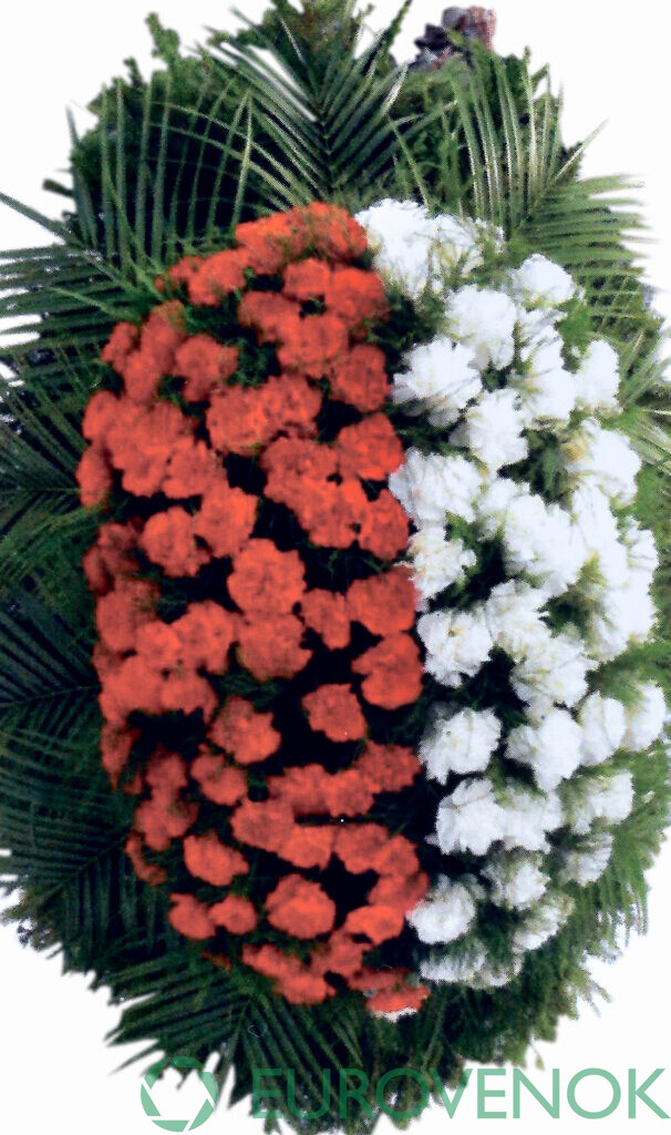 Венок из цветов №50