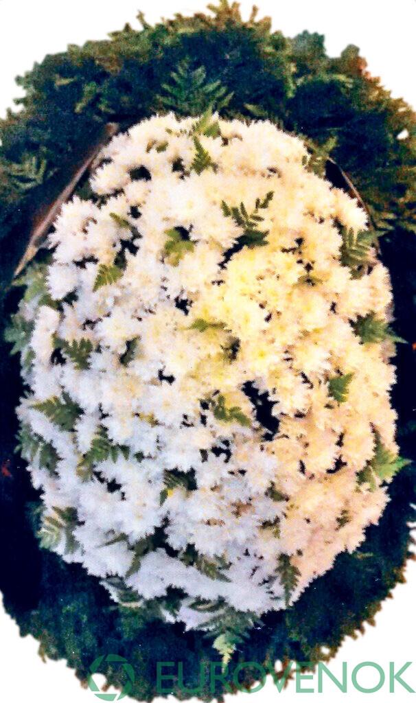 Венок из цветов №51
