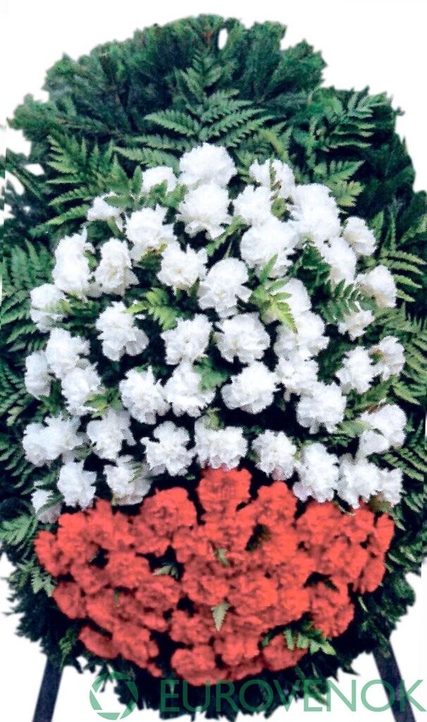Венок из цветов №52