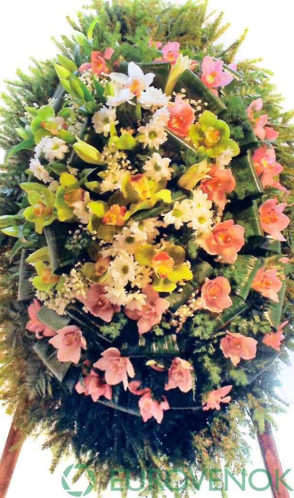 Венок из цветов №61