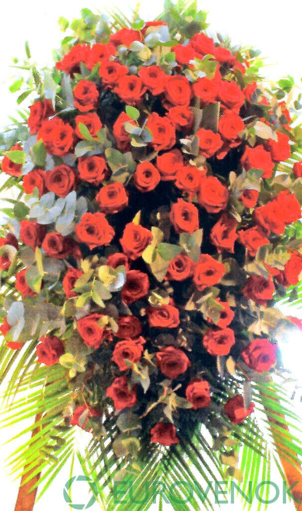 Венок из цветов №62