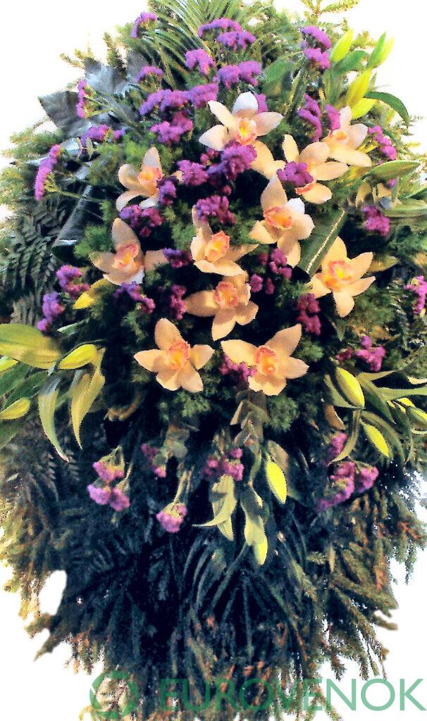 Венок из цветов №63