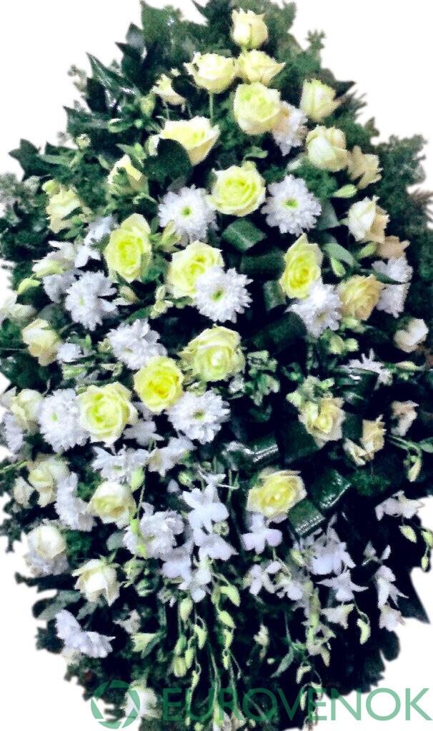 Венок из цветов №71