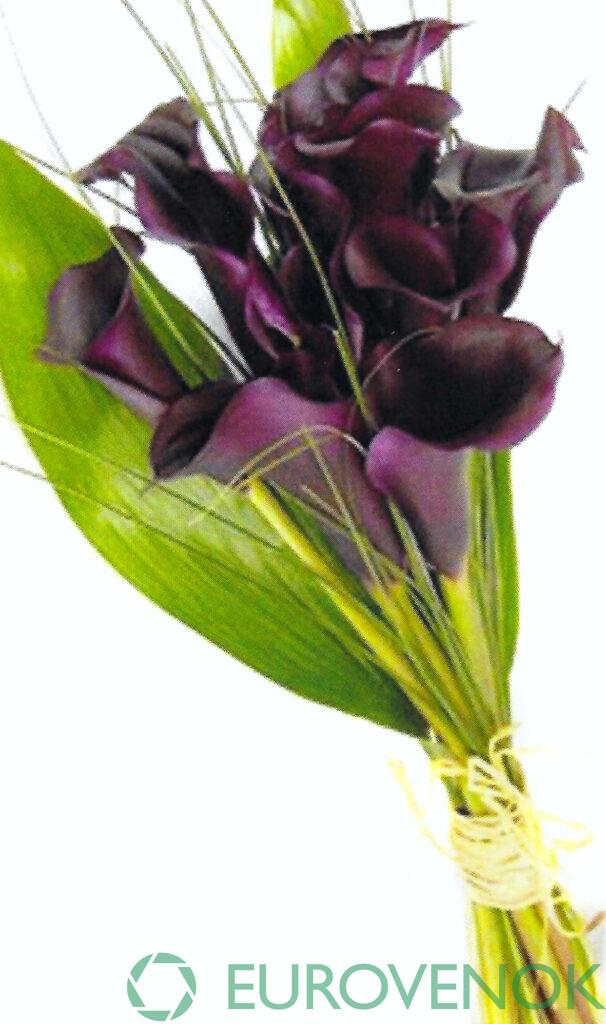 Траурные букеты из живых цветов №119